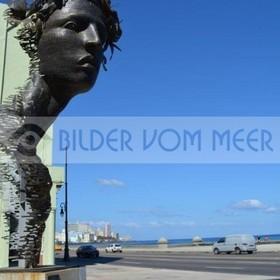 Kuba Bilder vom Meer | Havanna Malecón, der Riegel zum Meer