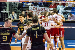 2016_050_OlympiaQualiSuP3_Deutschland-Polen | Jubel bei Polens Mannschaft