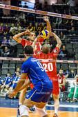 2016_017_OlympiaQualiFrankreich-Bulgarien | Zuspiel AGONTSEV Lubomir (#20 Bulgarien)