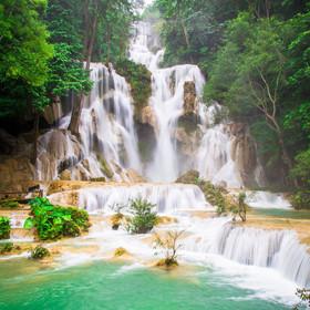 great lagoon waterfall