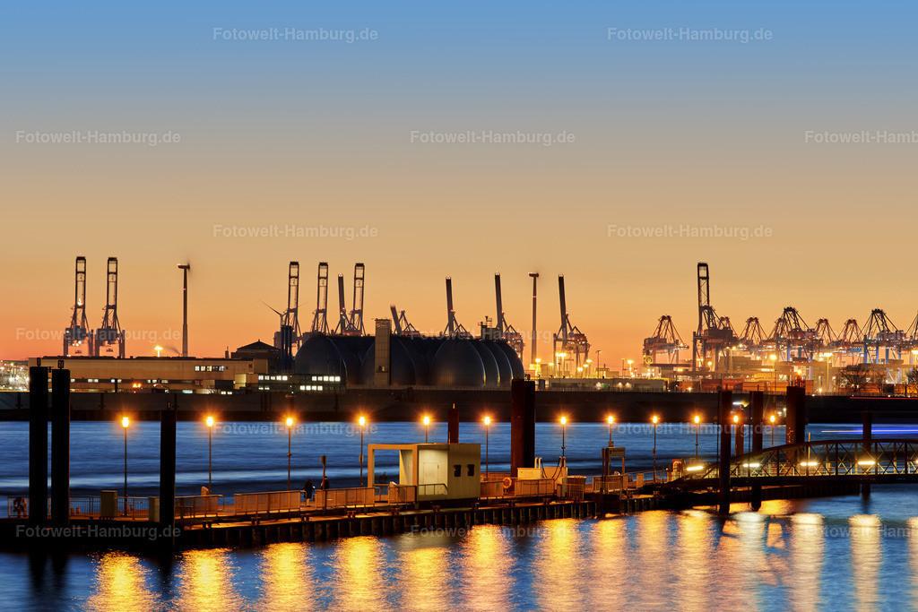 11910504 - Abend im Hamburger Hafen