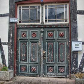 Rinteln eine alte Tür | SONY DSC