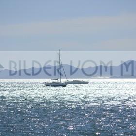 Bilder vom Meer als Wandbild | Segler im Mar Menor als Wandbild