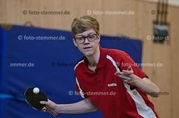 Foto: Michael Stemmer | © Michael Stemmer Tischtennis Kreismeisterschaften Schüler A/Jugend   Datum: 15.10.2017 Jannik Billigmann  (TuS Esingen)