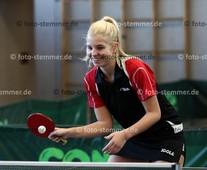 Foto: Michael Stemmer | © Michael Stemmer Tischtennis, Verbandsoberliga Nord, Frauen Datum: 27.11.2016 Lisa Tinney   (TuS Esingen)