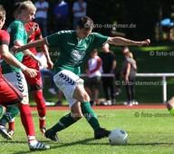Foto: Michael Stemmer | © Michael Stemmer Fußball, Oberliga- Hamburg, Saison 2017- 2018 Datum: 27.8.2017 Spiel: TSV Wedel gegen TuS Osdorf Tim Vollmer   (TSV Wedel)