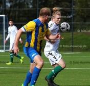 Foto: Michael Stemmer   © Michael Stemmer Datum: 3.10.2017 Fußball, Pokal Tangstedter SV – Wedeler TSV  Theodoros Ganitis  ( Wedeler TSV )