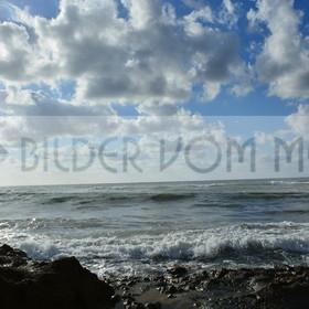 Bilder vom Meer als Wandbild Meer | Wandbild Meer: Magie der Morgensonne in Spanien am Meer