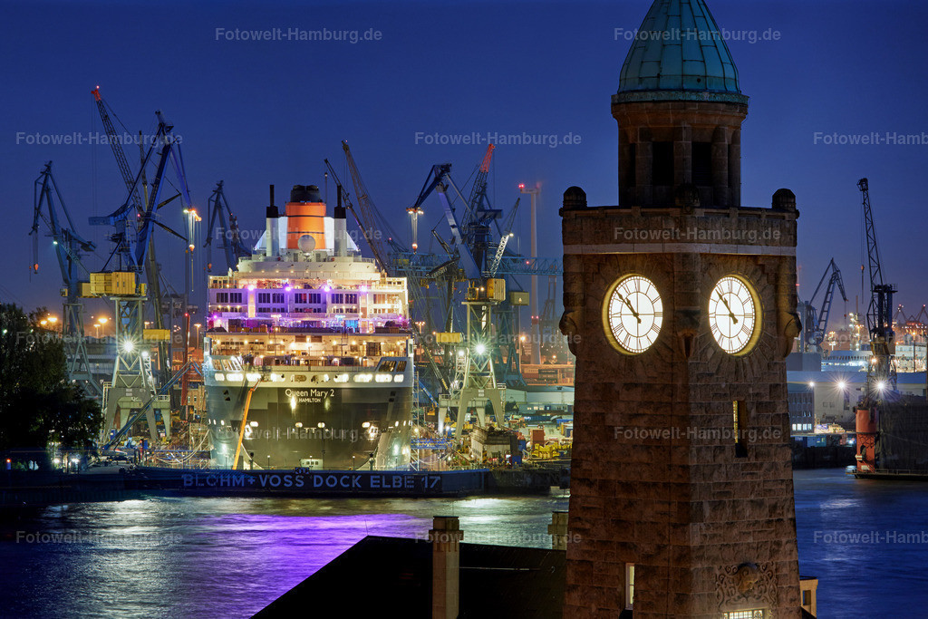 11766114 - Queen Mary 2 im Dock Elbe 17