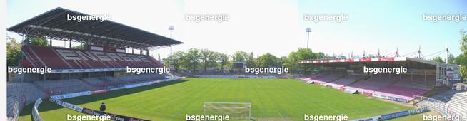 Panorama | Panorama Stadion der Freundschaft Cottbus vor dem Umbau