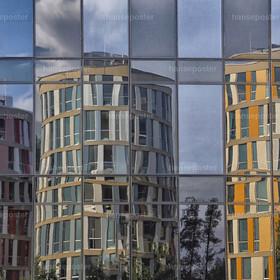 Nordporttowers Spiegelung