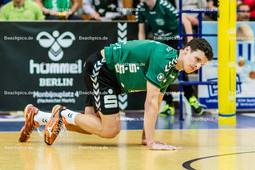 2016_029_BLM_Netzhoppers-Friedrichshafen | Theo Timmermann (Netzhoppers #11) gefrustet über den gut platzierten Ball