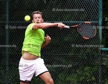 Foto: Michael Stemmer | © Michael Stemmer Tennis, 1. Amato-Caffè-Open des Pinneberger TC  Datum: 22.7.2017 Lucas Hellfritsch (Tennisclub Rot- Weiß Wahlstedt))
